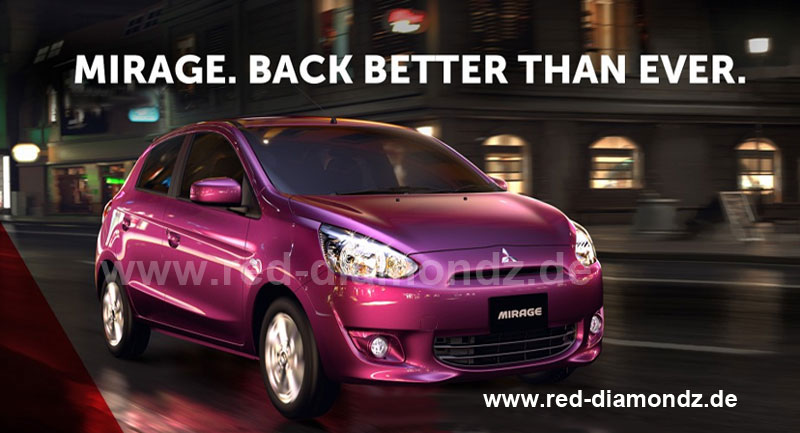 Mitsubishi Mirage (Space Star) 2013