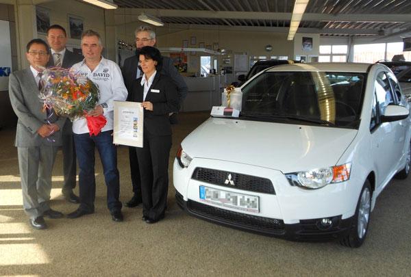 Letzter Mitsubishi Colt geht nach Mecklenburg-Vorpommern
