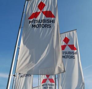 Mitsubishi Platz drei von 25 im Service