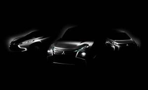 Mitsubishi Concept GC-PHEV, XR-PHEV, AR. Tokio Motorshow 2013