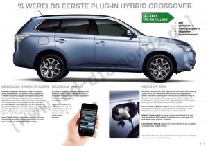 Mitsubishi Outlander PHEV Prospekt und Preisliste