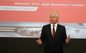 Der neue Deutschland-Chef Werner Frey schwor die Händler in Mainz auf den Neustart der Marke in Deutschland ein.