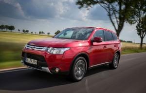 Erfolgsgaranten: Die Mitsubishi Modelle Outlander, Space Star und ASX trugen maßgeblich zur Absatzsteigerung um 28 Prozent in Europa bei